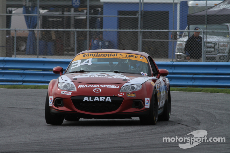 #34 Alara Racing Mazda MX-5: Christian Szymczak, Devin Jones, Kenton Koch, Randy Pobst