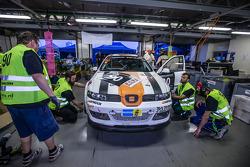 #90 Car Point S Racing Schmieglitz Seat Leon Supercopa: Daniel Schmieglitz, Cyndie Allemann, Heino Bo Frederiksen, Axel Wiegner, Heinz Jürgen Kroner pitte