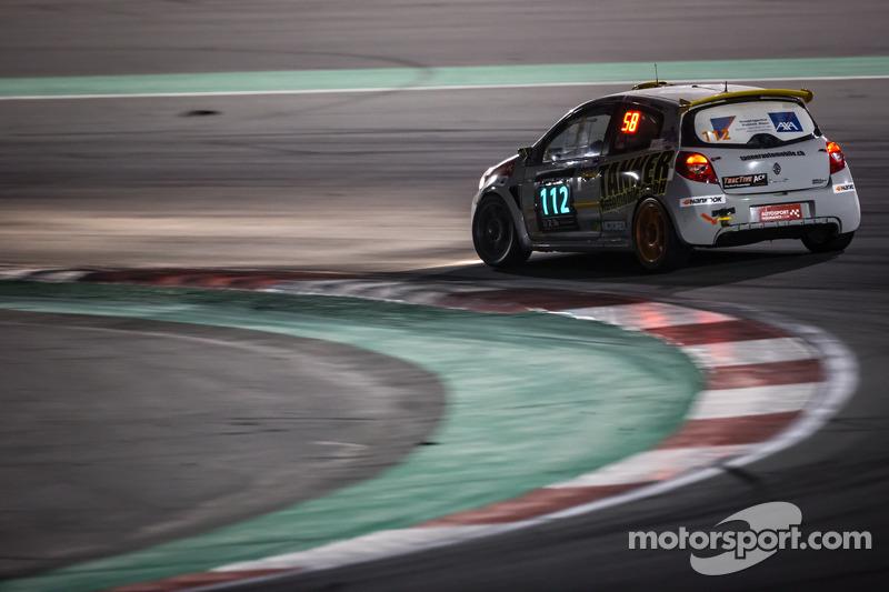 #112 presenza.eu Racing Team Clio Renault Clio Cup Endurance: Luigi Stanco, Stefan Tanner, Stephan J