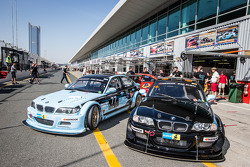#77 JR Motorsport, BMW E46 GTR und #78 JR Motorsport, BMW E46 GTR