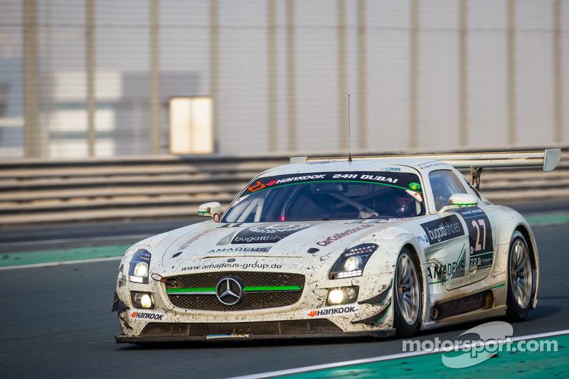 #27 Car Collection Motorsport, Mercedes SLS AMG GT3: Tim Müller, Dirg Parhofer, Jürgen Krebs, Pierre Ehret, Norbert Pauels