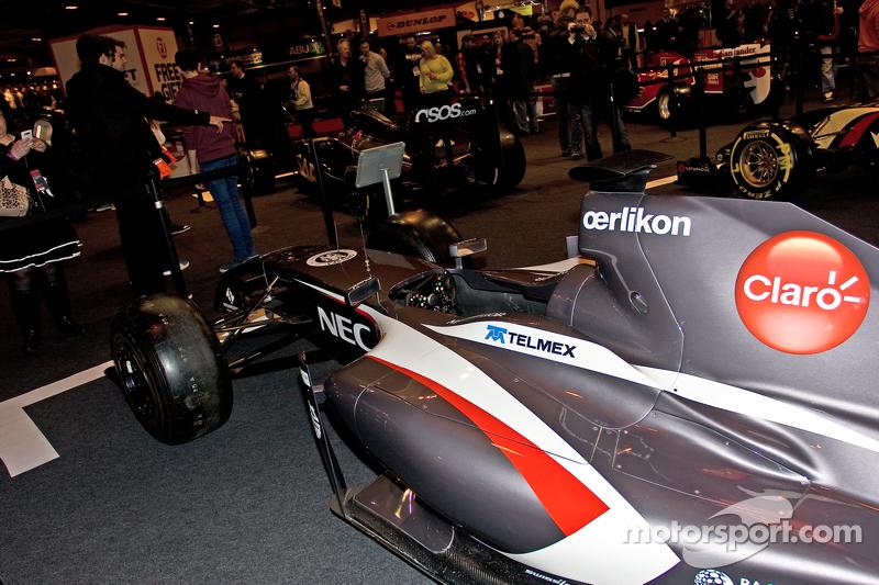 Sauber F1, Auto