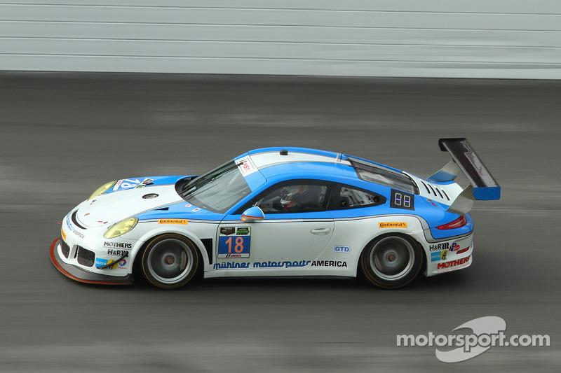 #18 Muehlner Motorsports America Porsche 911 GT America: Jim Michaelian, Marc Basseng, Matteo Berett