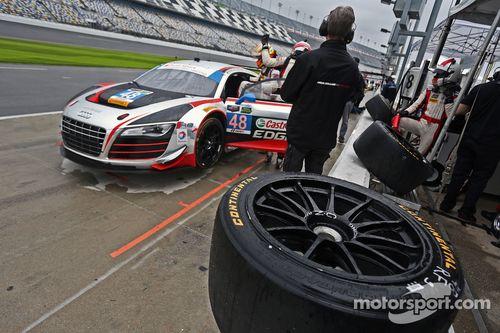 Testfahrten in Daytona, Januar