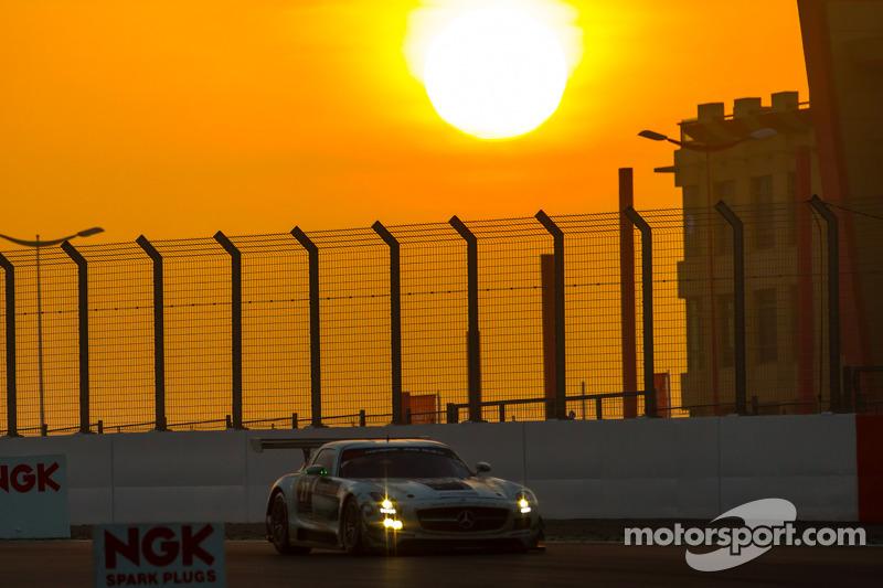 #27 Car Collection Motorsport, Mercedes SLS AMG GT3: Tim Müller, Dirg Parhofer, Jürgen Krebs, Pierre