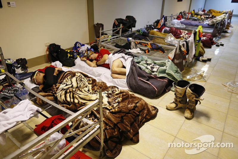 Schlafquartiere der Fahrer
