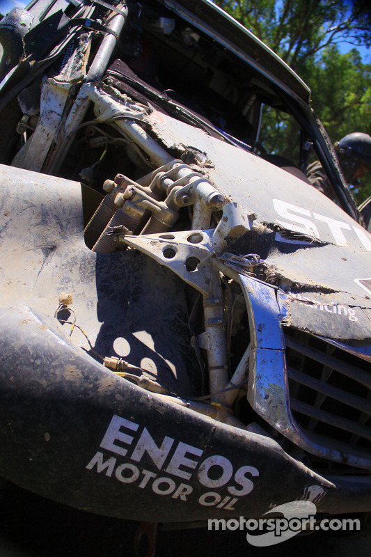 #339 Toyota: Benediktas Vanagas, Andrei Rudnitski em apuros