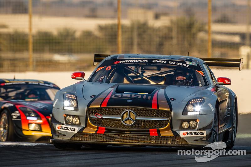 #6 Gravity Racing International,梅赛德斯SLS AMG GT3: Vincent Radermecker, Eric Lux, Gérard Lopez, Loris