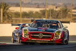 #9 Hofor-Racing,梅赛德斯SLS AMG GT3: Michael Kroll, Kenneth Heyer, Christiaan Frankenhout, Roland Eggima