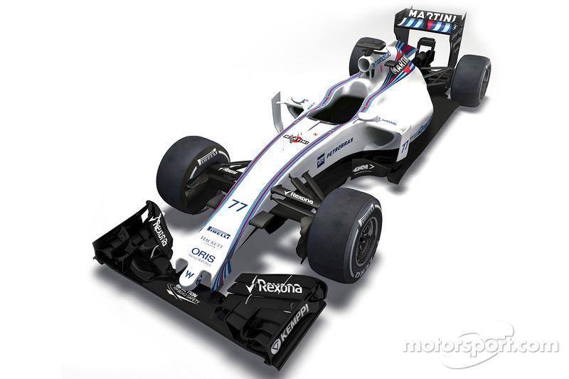新的威廉姆斯FW37前瞻