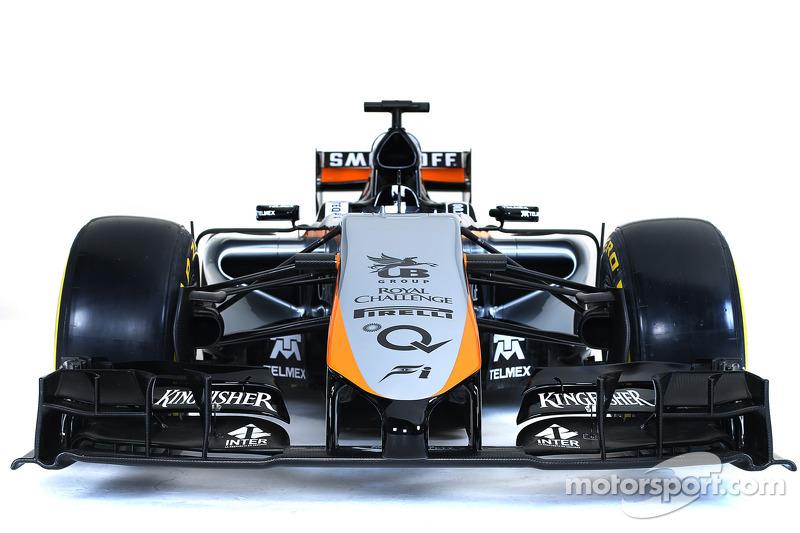 Das Design von Sahara Force India F1 2015