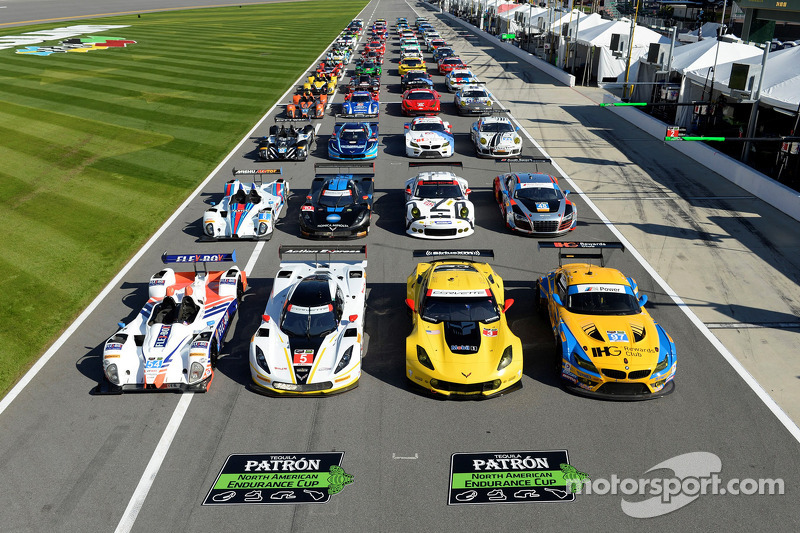 The TUDOR United Sportscar Championship Group Photo Pictures