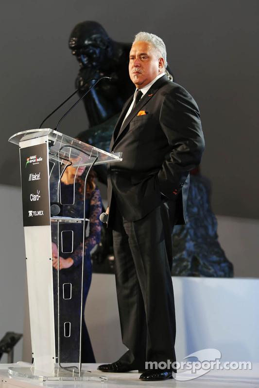 Dr. Vijay Mallya, Proprietário da equipe Sahara Force India F1