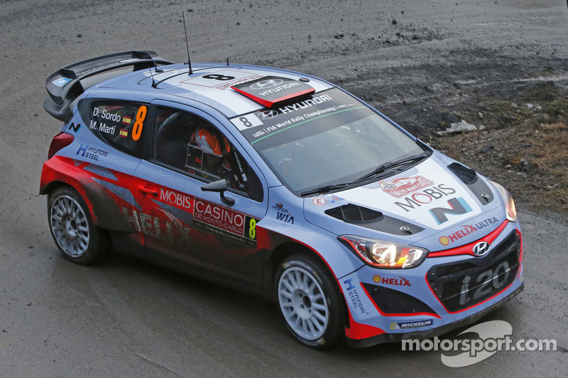 Daniel Sordo And Marc Marti Hyundai I20 Wrc Hyundai Motorsport At