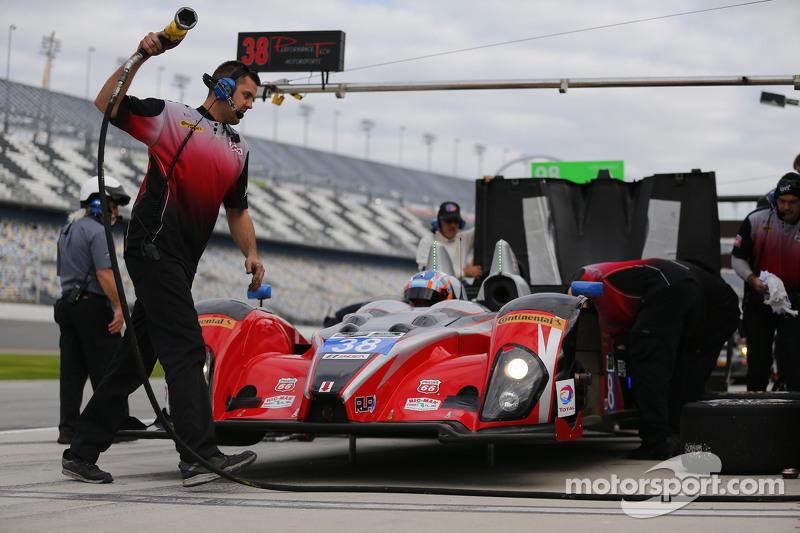 #38 Performance Tech Motorsports Oreca FLM09: James French, Jerome Mee, James Vance, Sean Johnston