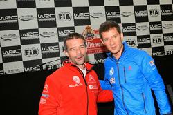 Sébastien Loeb und Sébastien Ogier