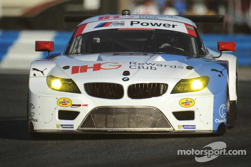 #25 BMW Team RLL, BMW Z4 GTE: Bill Auberlen, Dirk Werner, Augusto Farfus, Bruno Spengler
