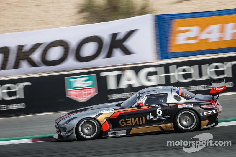 #6 Gravity Racing International,梅赛德斯SLS AMG GT3: Vincent Radermecker, Eric Lux, Gérard Lopez, Loris de Sordi, Andy Ruhan