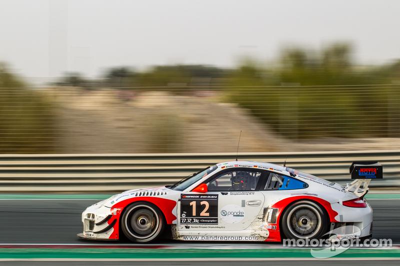 #12 Fach Auto Tech, Porsche 997 GT3 R: Otto Klohs, Martin Ragginger, Jens Richter, Sven Müller