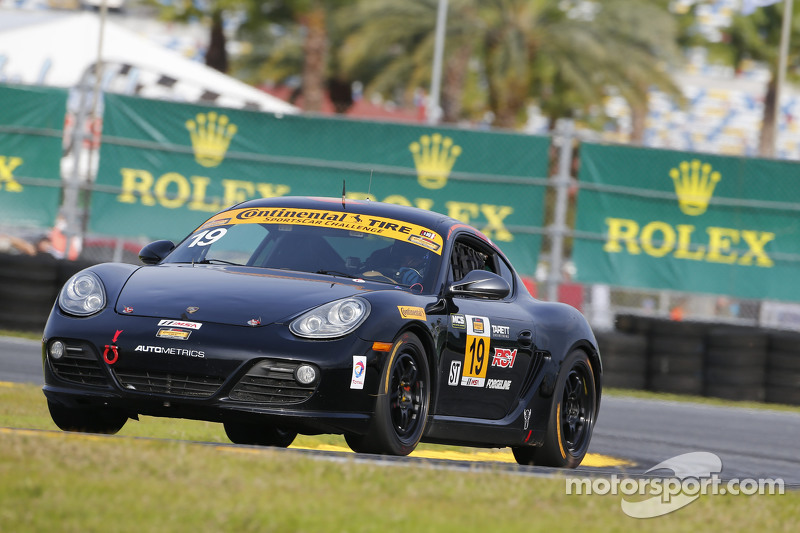 #19 RS1, Porsche Cayman: Connor Bloum, Greg Strelzoff
