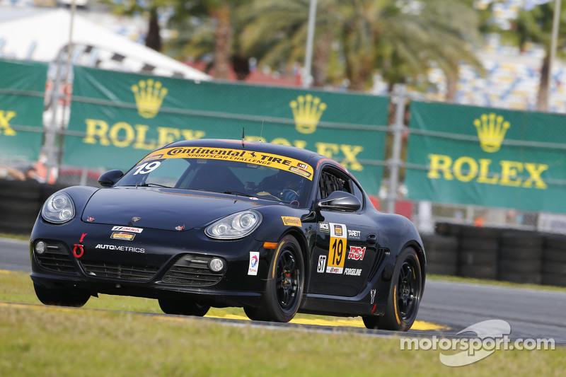 #19 RSI Porsche Cayman: Connor Bloum, Greg Strelzoff