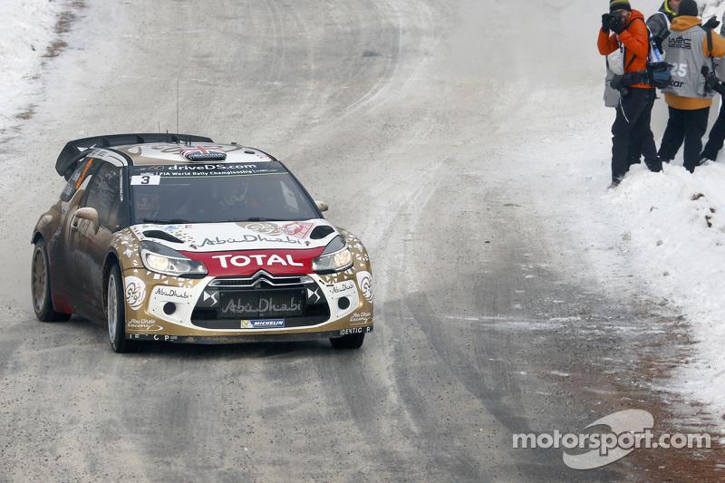 Kris Meeke und Paul Nagle, Citroën DS3 WRC, Citroën Total Abu Dhabi World Rally Team