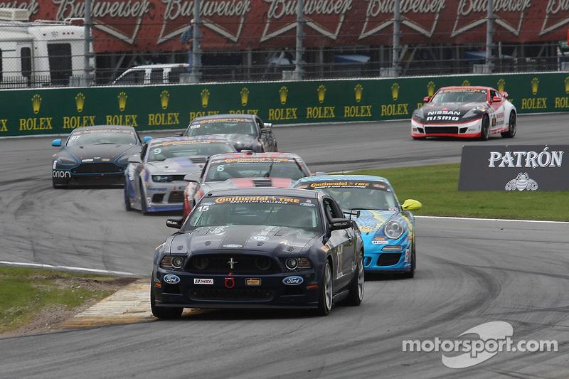 #15 Multimatic Motorsports, Mustang Boss 302R: Billy Johnson, Scott Maxwell