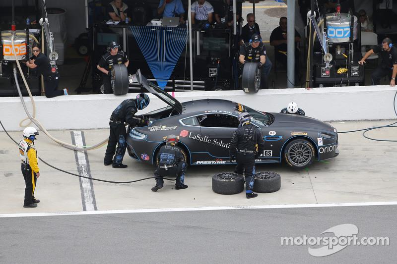 #07 TRG-AMR, Aston Martin Vantage: Kris Wilson, Max Riddle