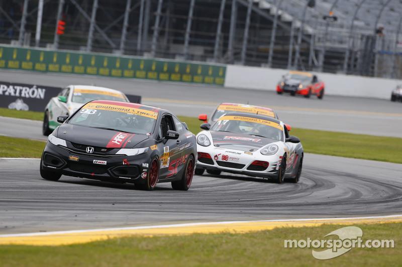 #93 HART, Honda Civic Si: Chad GilSängerin, Peter Cunningham