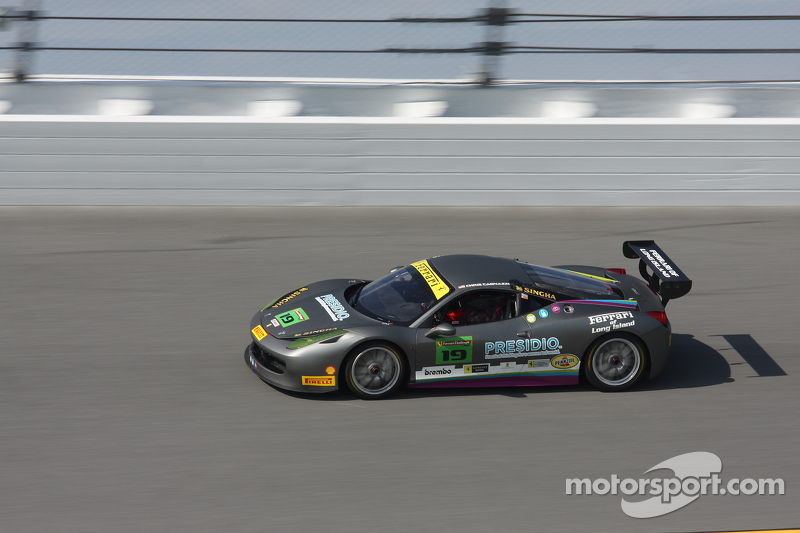 #19 Ferrari of Long Island, Ferrari 458: Chris Cagnazzi