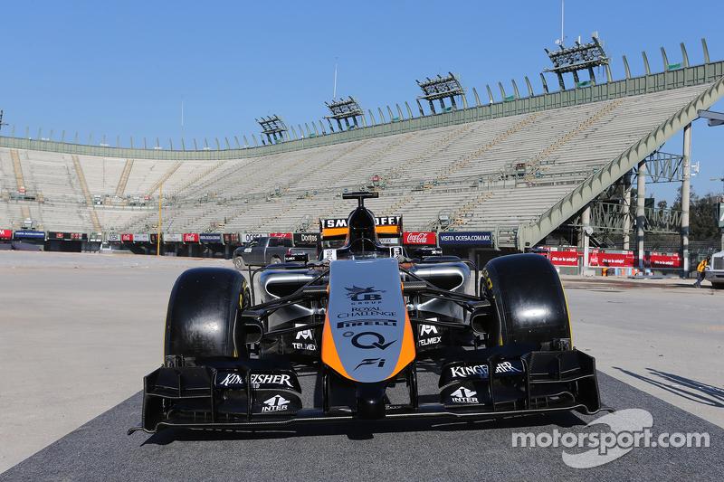 Sahara Force India F1 Team new livery