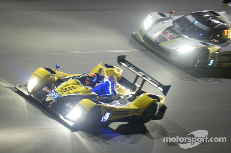 #85 JDC/Miller Motorsports ORECA FLM09: Rusty Mitchell, Stephen Simpson, Mikhail Goikhberg, Chris Miller