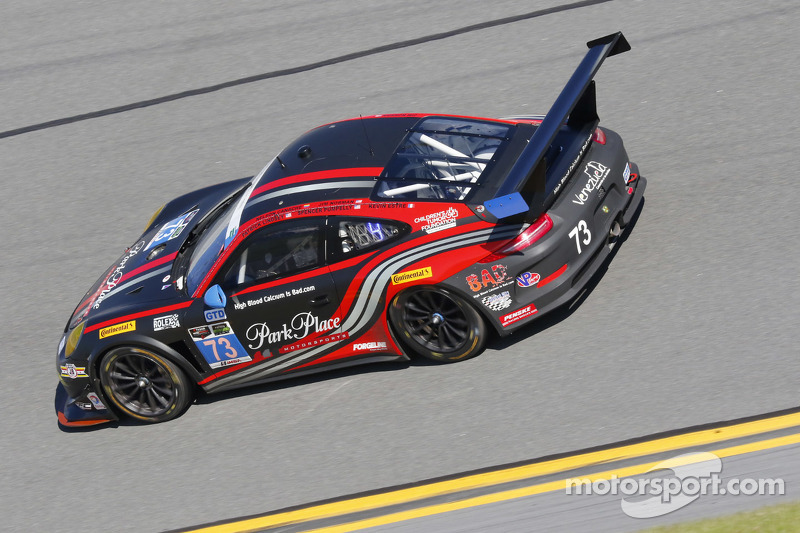 #73 Park Place Motorsports,保时捷911,美洲GT: Patrick Lindsey, Spencer Pumpelly, Jim Norman, David Ducote, Kevin Estre
