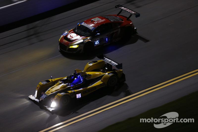 #85 JDC/Miller Motorsports ORECA FLM09: Rusty Mitchell, Stephen Simpson, Mikhail Goikhberg, Chris Mi