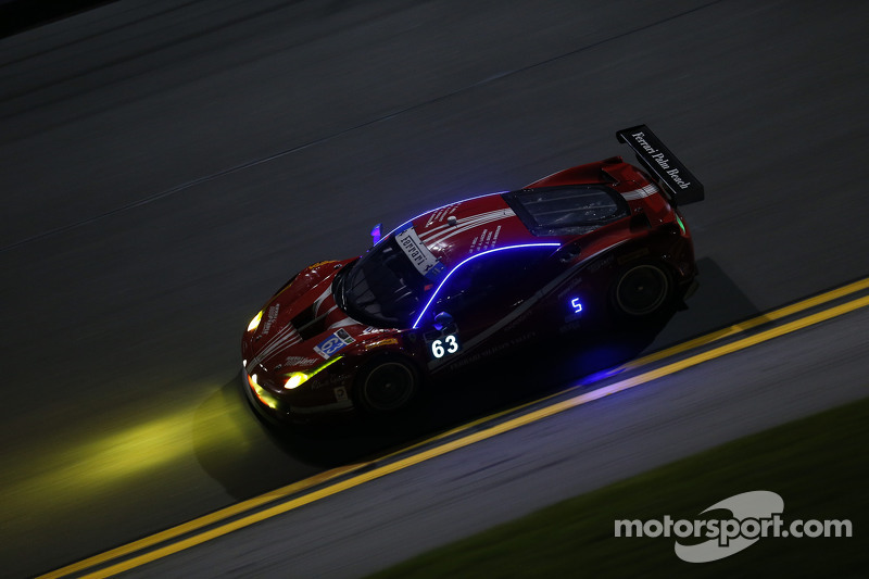 #63 Scuderia Corsa, Ferrari 458 Italia: Bill Sweedler, Townsend Bell, Anthony Lazzaro, Jeff Segal, Jeff Westphal