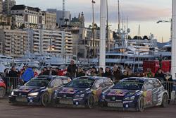 El 1-2-3 para Volkswagen Motorsport