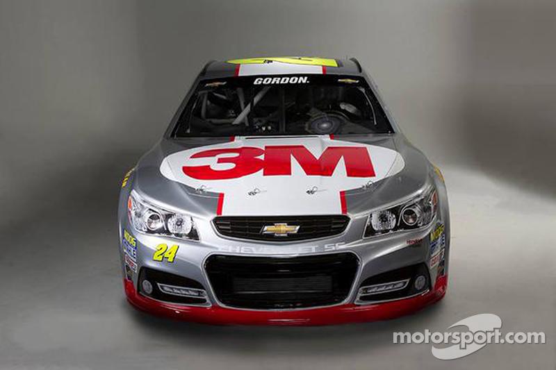 Jeff Gordon  's colorazione 3M per il 2015