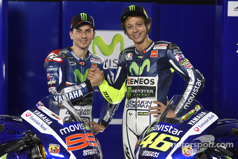 Valentino Rossi dan Jorge Lorenzo, Yamaha Factory Racing