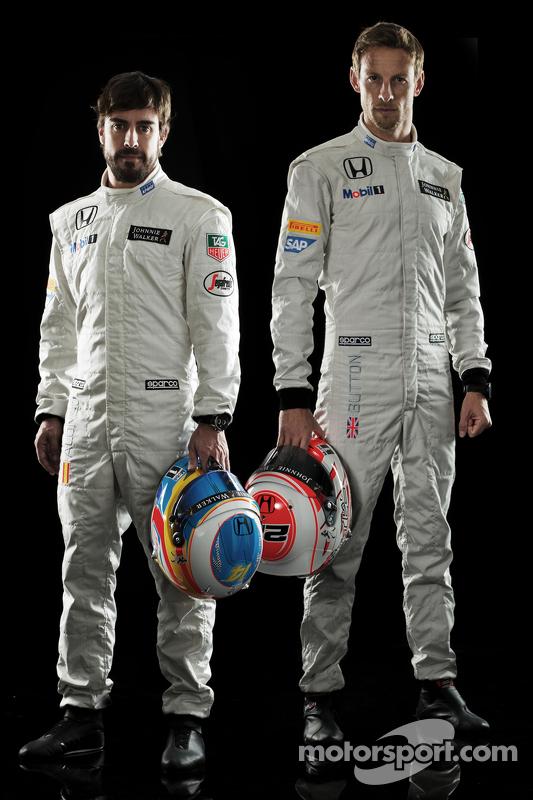 Fernando Alonso e Jenson Button, McLaren Honda