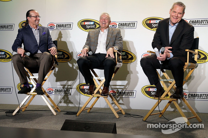 Kyle Petty, Dale Jarrett and Marty Snider