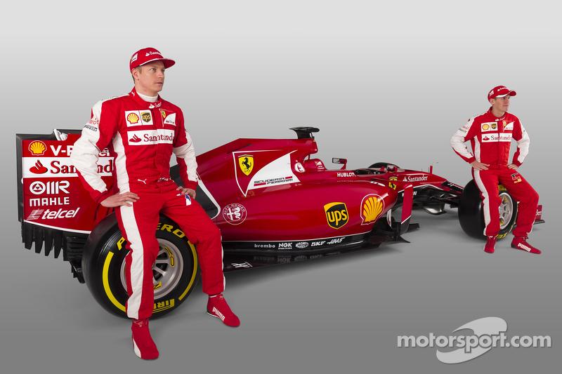 Kimi Raikkonen, Sebastian Vettel ile Ferrari SF15-T