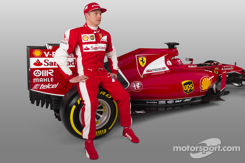 Kimi Raikkonen ve Ferrari SF15-T