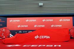 La Toro Rosso STR10 coperta