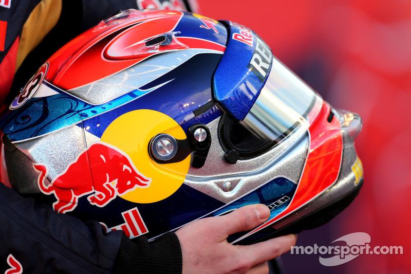 Capacete de Max Verstappen, Scuderia Toro Rosso