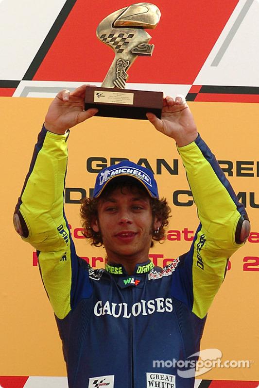 Podium: ganador, Valentino Rossi