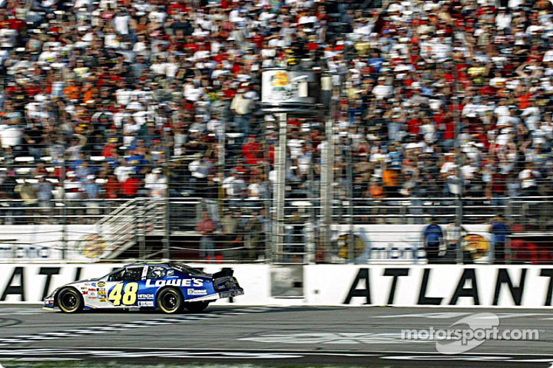2004: Jimmie Johnson (Hendrick-Chevrolet) - 3 Siege