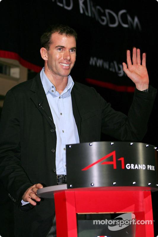 Ralph Firman, pilote d'essais de l'A1 Grand Prix