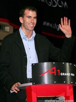 Ralph Firman A1 Grand Prix test driver