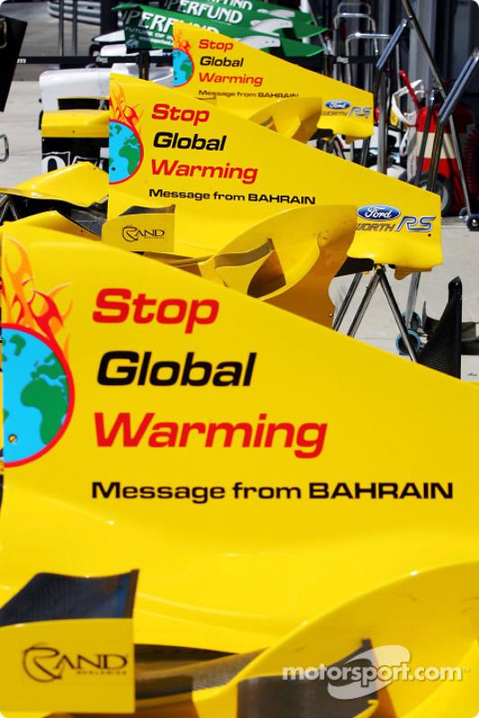 Le Message from Bahrain du Grand Prix de Hongrie :