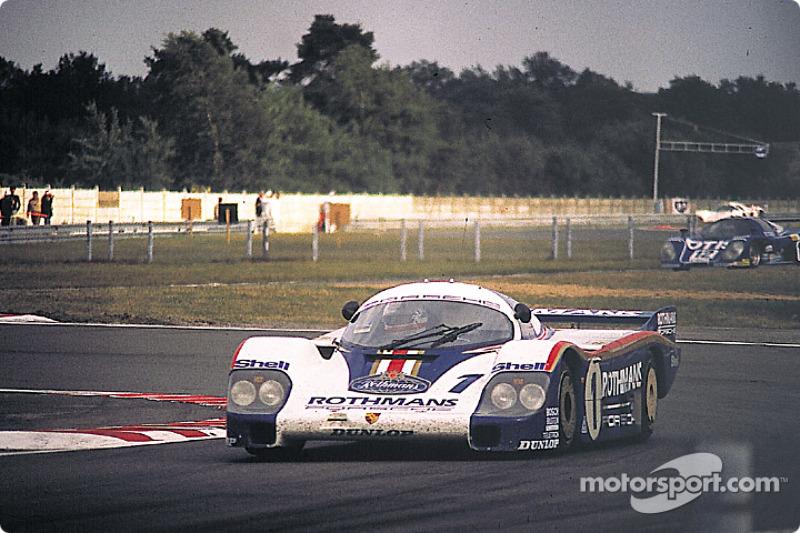 #1 Rothmans Porsche Porsche 956: Жаки Икс, Дерек Белл